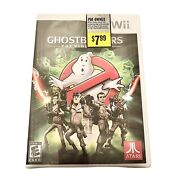 Ghostbusters The Video Game Nintendo Wii, 2009 Factory Sealed