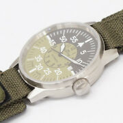Fortis Flieger Pilot Cockpit 595.11.46.3 Automatic Watch Used Rare With Ss Belt