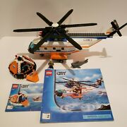 Lego Coast Guard Helicopter Raft 4wd Jet Scooter Truck Speed Boat 7726 7737 7738