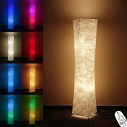 Floor Lamp, Rgb Standing Lamps For Bedroom, 7 Colors Changing And 52+ In White