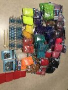 Huge Lot Of 50 600 Count Rainbow Loom Rubber Band Bracelet Making Kit And Looms
