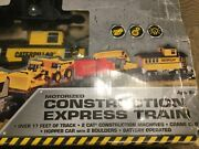 Cat Caterpillar Construction Express Battery Operated Train Set Toy State