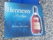 Vintage Hennessy Tin Sign Great Condition Man Cave Bar Pub Beer