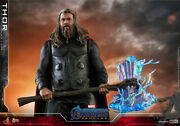 Hot Toys 1/6 Avengers Endgame Thor Fat Viking Male Action Figure Toy Collectable