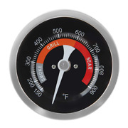 Grill Temperature Gauge For Big Green Egg 150 900°f Waterproof 3 1/4 Large Fac