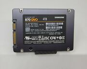 4tb Ssd 870 Qvo Samsung Sata Mz1m34t0halc Mz-77q4t0 V-nand Solid State Drive