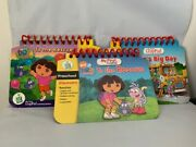 Lot Of 3 Game Books For My First Leap Pad--2 Dora To The Rescue And Leapand039s Big Day