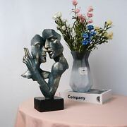 Retro Abstract Figures Vintage Bust Statue Resin Craft Figurines Home Decoration