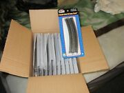 Atlas 2520 N Scale 11and039and039 Radius Track Box Of 12 Blister Packs 6 Tracks In Each