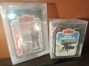 Star Wars 31a Snowtrooper And Tri-pod Laser Cannon Afa 80 Very Hard To Find Set