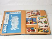 Vintage Lego Scrapbook Including Blueprints Clippings Box Pictures