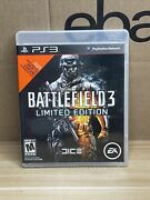 Battlefield 3 Limited Edition Sony Playstation 3 Ps3 Complete