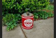 Vintage Kendall Specialized Lubricant 5 Gallon Can