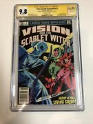 Vision And The Scarlet Witch 1982 1 Ss Cgc 9.8 Cpv | Signed Bettany And Olsen