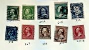 19th Century Us Used Stamps Lot J -76