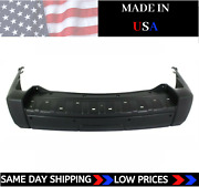New Usa Made Capa Rear Bumper Cover For 2009-2010 Jeep Commander Without Tow
