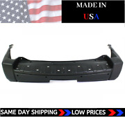 New Usa Made Capa Rear Bumper Cover For 2006-2008 Jeep Commander With Tow Hitch