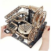 Marble Run 3d Wooden Puzzles - Large Mechanical Model Kits For Adults
