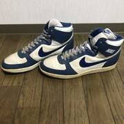 Nike Team Convention Menand039s Sneakers Size Us13 White X Navy Used
