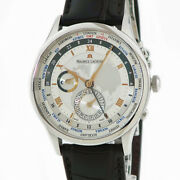 Maurice Lacroix Automatic Men Masterpiece World Timer Mp6008-ss001-110 Tk3880
