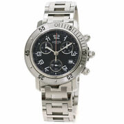 Hermes Clipper Diver Chronograph Watches Cl2.910 Stainless Steel/stainless S...