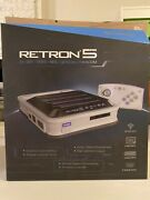 Hyperkin Retron 5 Complete Plus Games Super Mario World Star Wars Sonic And More