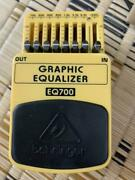 Behringer Beq700 Bass Graphic Equalizer Effects Pedal Ships Safely From Japan