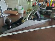 Vintage Stanley No. 6 Fore Plane Rare Blue Finish Nice