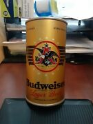 Budweiser Flat Top Beer Empty Can Oi Irtp Very Nice