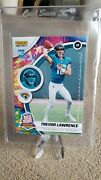 2021 Trevor Lawrence Rc Panini Versicolor Rated Rookie Showcase 3/5 Ssp Psa Bgs