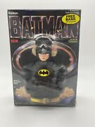 Vintage 1989 Ralston Batman Cereal Box With Coin Bank - New Sealed