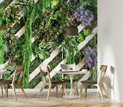 3d Wood Leaves Zhu4666 Wallpaper Wall Mural Removable Self-adhesive Zoe