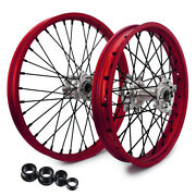 21and039and039 + 19and039and039 Mx Spoked Wheel For Ktm Sx 125 250 Sxf 350 450 Xc 300 Xc-f 450 15-19