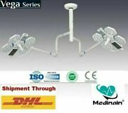 Twin Arm Ceiling Ot Light Operation Theater Light Or Lamp Examination Led Light