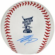 Reserved Products Shohei Ohtani Autographed 2021 Mlb Home Run Derby Logo Ball