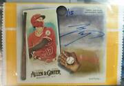 Limited To 15 Pieces Shohei Ohtani Signature Topps 2020 Allen Ginger