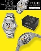 Disney Limited Edition Collectable Mickey Mouse Quartz Watch Model 25191
