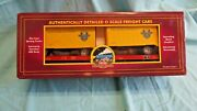 Mth Electric Trains Delaware And Hudson Flatbed 20 Ft Trailer O Scale Toy Box Lot