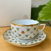 Herend Strawberry Composition Cup Saucer 724