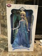 Disney Frozen Snow Queen Elsa Doll Limited Edition New Mint In Box