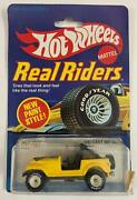 Hot Wheels Real Riders 1982 Jeep Cj-7 No.9543 New In Bp Malaysia