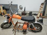 1973 Us Made Electric Motorcycle Vtg Battery Trail Mini Bike Old Tesla Scooter