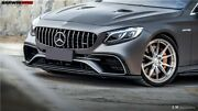 2018-2021 Benz C217 S63/s65 Amg Coupe Bkss Style Carbon Front Lip Body Kit