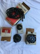 Nos 1972 Gto 455 Ho Unitized Distributor Ignition Cap Coil Wire Set Rotor
