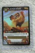 World Of Warcraft Wow Tcg Loot - El Pollo Grande - Magic Rooster [unscratched]