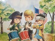 1974 Moppets 1776 Puzzle By Fran Mar Greeting Cards -500 Pieces 16x20 Sealed
