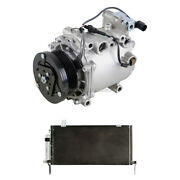 For Mitsubishi Galant 2004-2012 Oem Ac Compressor W/ A/c Condenser And Drier Tcp