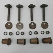 2 Nos Upper Control Arm Cam And Bushing Part Packages 1962-1976 Dodge Plymouth Usa