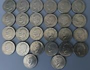 Lot Of 38 Us Coins Eisenhower Dollars - Mixed Dates From 1972 - 1976