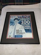 Framed Fortune Magazine Oct.1991 Michael Dell 26 Years Old Leads Computer Firm